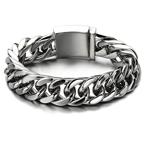 Masculine Bracelet Stainless Silver Quality