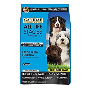 CANIDAE All Life Stages Large Breed Dog Dry Food Turkey Meal & Brown Rice Formula, 44 lbs