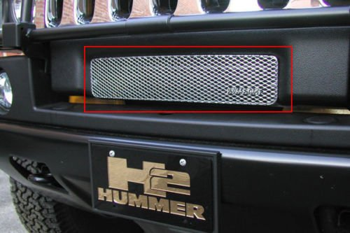 2003-2007 HUMMER H2 LOWER GRILLE (Aluminum Silver)