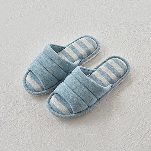 38 B Antiscivolo Paio Pantofole 37 e in Semplice Pantofole 39 Scarpe Cotone Casa Cotone B 40 Pantofole Di Cotone Silenzioso axvnWw4Z