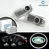 For Land Rover, Car Rover No Drilling No Wiring HD Car Door Logo Projector (Pack of 2)