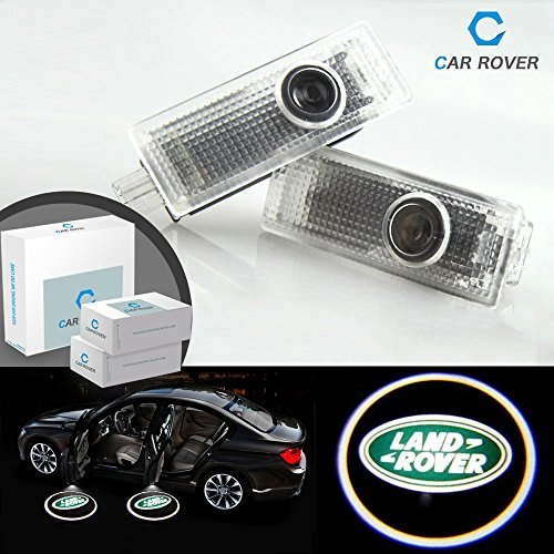 Rover 2012 Land - For Land Rover, Car Rover No Drilling No Wiring HD Car Door Logo Projector (Pack of 2)