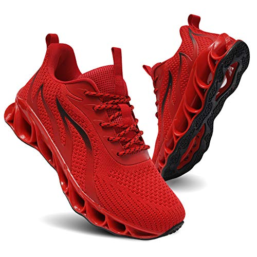 TIAMOU Women's Road Running Shoes Walking Athletic Tennis Non Slip Blade Type Sneakers