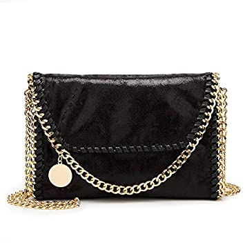 Bolsa Feminina Carteras Mujer Stella Handbags Casual PU Leather Shoulder Bags Two Chains Crossbody for Women