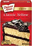 Duncan Hines Classic Cake Mix, Classic Yellow, 15.25 Ounce (Pack of 12)