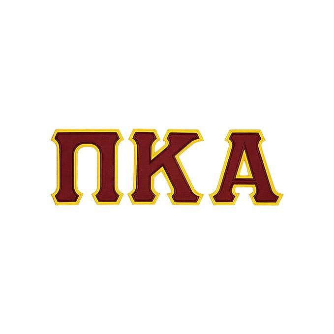 Amazon Fashion Greek Pi Kappa Alpha Twill Letter Crewneck