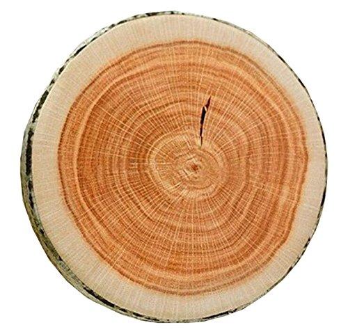 Edtoy Creative Natural Wood Design Soft Log Comfortable Neck