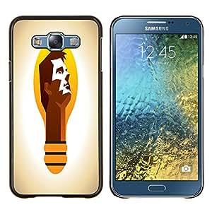 Dragon Case - FOR Samsung Galaxy E7 E7000 - is not just a dream - Caja protectora de pl??stico duro de la cubierta Dise?¡Ào Slim Fit