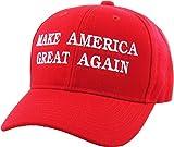 Make America Great Again - Donald Trump 2016 Campaign Cap Hat (004) Red