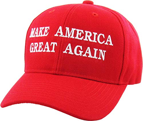 Make America Great Again - Donald Trump 2016 Campaign Cap Hat (004) Red]()