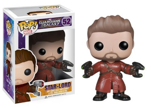 Funko POP Marvel: Guardians of The Galaxy Unmasked Star Lord Bobble Head Figure (Amazon Exclusive) by Funko [並行輸入品]