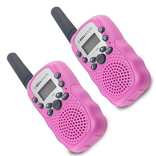 Crony T-388 UHF Band 3KM Small Walkie Talkie Pink (2 pcs)