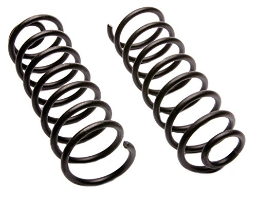 ACDelco 45H2096 Professional Rear Coil Spring Set (99 Coil Jetta Springs)
