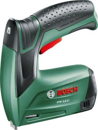 Bosch Ptk 3 6 Li 3 6v Cordless Staple Tacker Gun With Lithium Ion