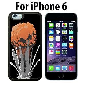 Nuke Bomb Mushroom Cloud Custom Case/ Cover/Skin *NEW* Case for Apple iPhone 5C - White - Rubber Case (Ships from CA) Custom Protective Case , Design Case-ATT Verizon T-mobile Sprint ,Friendly Packaging - Slim Case