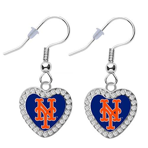 new york mets earrings - 7