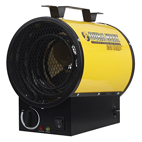 Dura Heat Electric Forced Air Heater, Length: 10.75in, Width: 8.75in, Height: 12.75in ()
