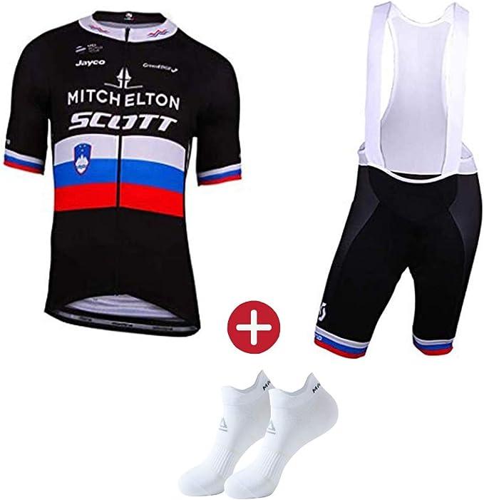Ropa Ciclismo Verano para Hombre Maillot Ciclismo+Ciclismo Culote Bicicleta(Múltiples Colores): Amazon.es: Deportes y aire libre