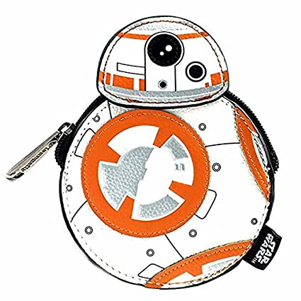 Amazon.com: Loungefly X Star Wars BB-8 Coin, bolsa: Toys & Games