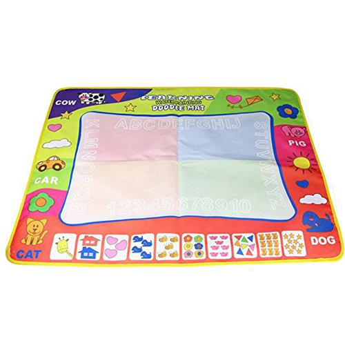 Laxllent Magic Aqua Doodle Mat Water Drawing Pad,Educational Toy for Kids (31.5in X (0070 Rug)