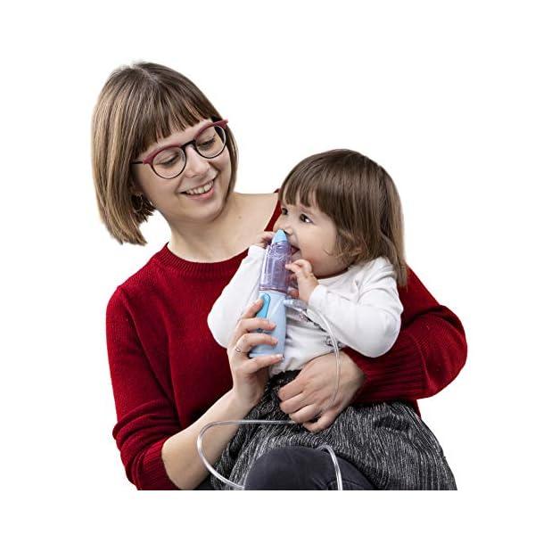 Air Liquide Healthcare Rinowash - Doccia Nasale Micronizzata per la Terapia Aerosolica - Nebulizzatore per Aerosol per… 4