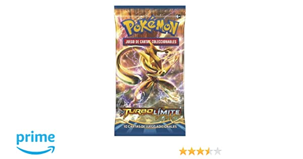 Pokémon - Display baraja 10 cartas XY TURBO Límite (POXY901ES)
