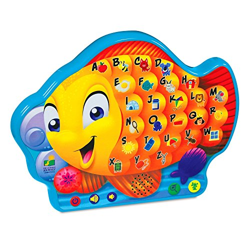 The Learning Journey Touch & Learn, Alphabet Fish (A Word That Starts With J)