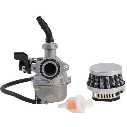 GOOFIT Carburador 19 Minimoto con Filtro de Aire 35mm con Filtro ...