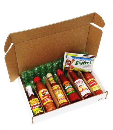 MexGrocer Hot Sauce Lovers Gift Pack, 6 items