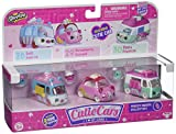 Cutie Car Spk Season 1 Freezy Riders Toy 3 Pack