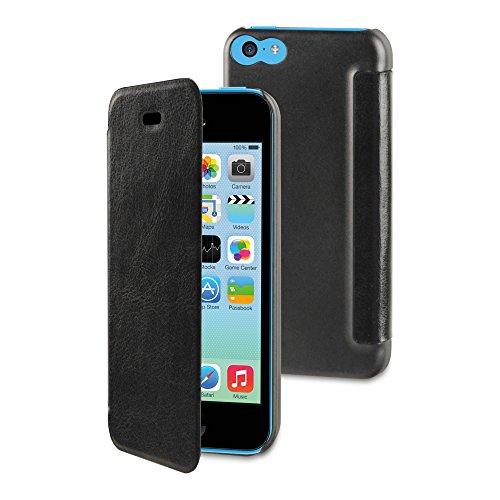 Muvit MUEAF0001 muvit iPhone 5C Easy Folio Case Schwarz