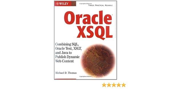Generating XML Documents Using XDK
