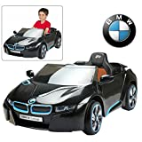 Modern-Depo Electric Ride On Car with Remote Control for Kids | Official Licensed 12V Power Battery Kid Car to Drive with 2.4G Radio Parental Control Black