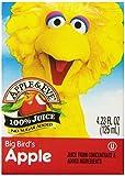 4 oz juice boxes - Apple & Eve Sesame Street Big Bird's Apple Juice 4.23 Fluid-oz, 8 Count, Pack of 5
