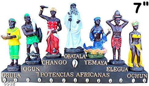 7 African Powers Siete Potencias Africanas Obatala Ochun Yemaya Elegua Chango Ogun Orula