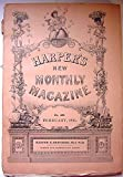 img - for Harpers New Monthly Magazine, February, 1891 book / textbook / text book