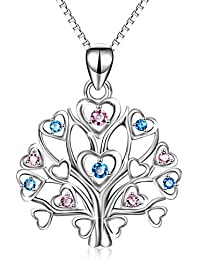 925 Necklace for Women Sterling Silver Tree of Life...