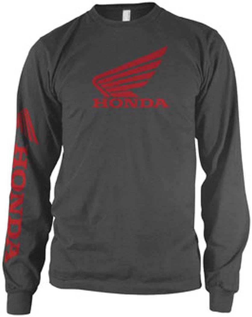 Amazon.com: Honda Classic Logo Gray Long-Sleeve T-shirt: Automotive