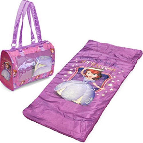 Disney Sofia the First Toddler Sleepover Slumber Set with Tote Bag