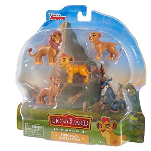 Just Play Lion Guard 5Pk Themed Mini Figure Asst. Zuka Zama Toy Figure
