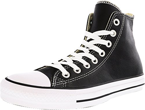 Sneaker Hi Converse Adulto Suede Nero Unisex Leather Star xIIrqw5F
