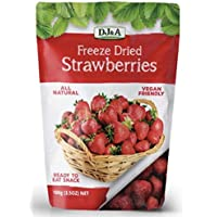 DJ&A DJ&A Freeze Dried Strawberries, 100G