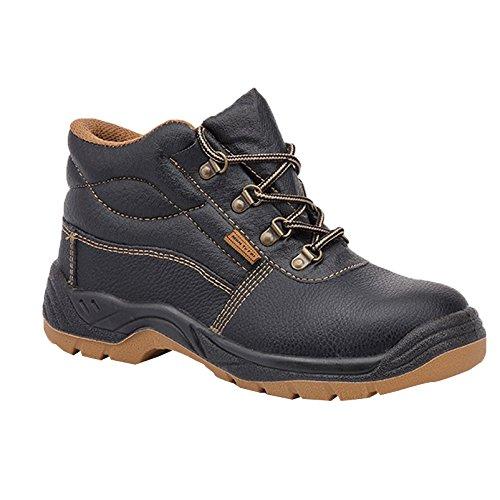Paredes sm5037NE45working–Zapatos de seguridad S3talla 45NEGRO/MARRÓN