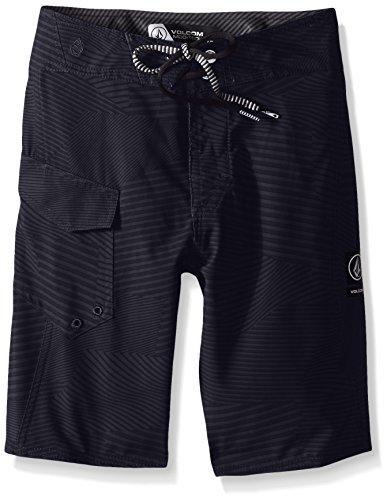 (Volcom Big Boys' Stone Mod Boardshort, Black, 22)
