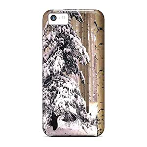 High Quality IeD21273Vcim Winter In The Forrest Cases For Iphone 5c
