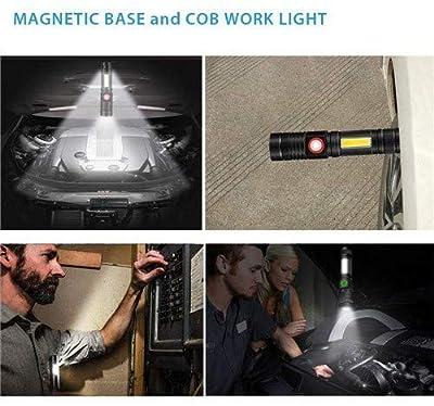 Rechargeable Flashlight, Magnetic flashlight