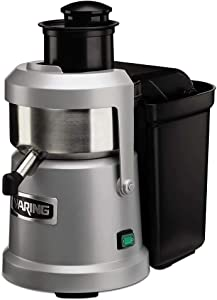Waring Products WJX80 120V 1.2HP HD Pulp Eject Juice Extractor, Stainless steel