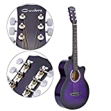 "Andoer 38"" Acoustic Folk 6-String Guitar for Beginners Students Gift"