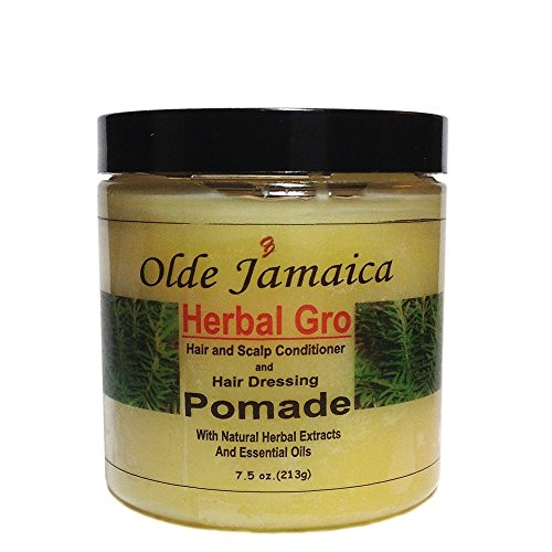 Olde Jamaica Herbal Gro Hair and Scalp Conditioner and Hair Dressing Pomade 7.5 oz.