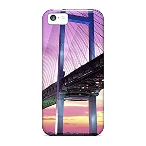 Iphone 5c Case Cover With Shock Absorbent Protective FCu6698slfs Case